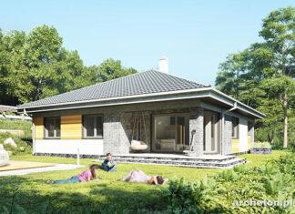Projekt domu o niewielkim metrażu
